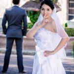 sneaky, bride, finger